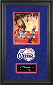 Los Angeles Clippers Deluxe 8x10 Team Logo Frame by Mounted Memories