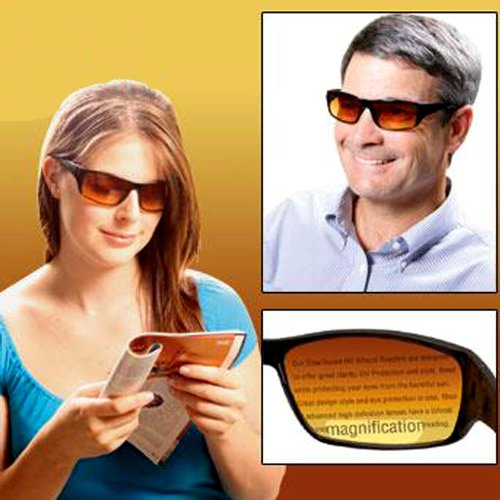 HD VISION BIFOCAL SUNGLASSES 2.0X