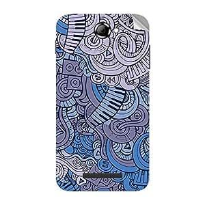 Garmor Designer Mobile Skin Sticker For Lava Magnum X604 - Mobile Sticker