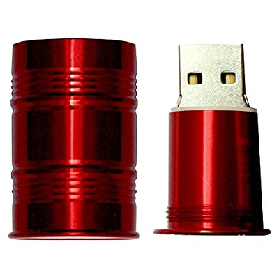 16 GB Pen Drive Beral Shape Red Color USB 2.0 Pen Drive MT1011