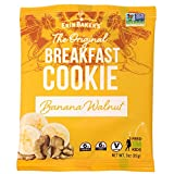 Erin Baker's Breakfast Cookies, Banana Walnut, Whole Grain, Vegan, Non-GMO, 3-ounce (Pack of 12)