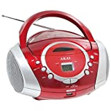 Akai -�Radio CD/MP3 USB Orange et Blanc AJ-P6420WUpar Akai