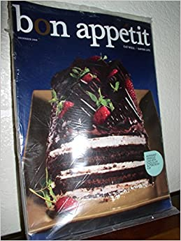 Bon Appetit December 2009 Peppermint Meringue Cake with Chocolate ...