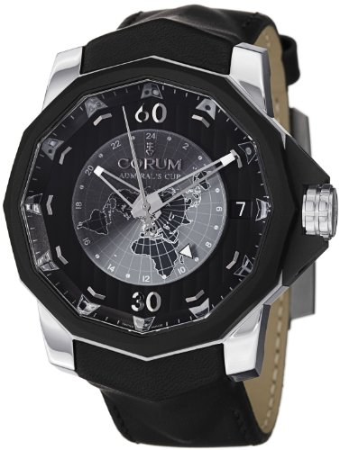 Corum Admiral's Cup Challenger 48 Day Night Men's Black Dial Automatic GMT Watch 171.951.95/0061 AN12