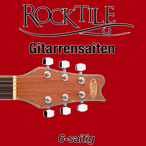 Rocktile Saiten für Konzertgitarre Super Light 10er Pack
