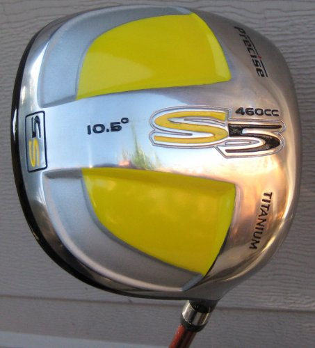 Mens Maximum Distance S5 Golf Driver Square Technology Golf Club Driver 10.5* Forged Titanium 460cc