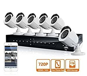 LaView 8 Channel 720P HD DVR Security