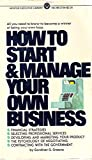 img - for How to Start and Manage Your Own Business (Mentor executive library) book / textbook / text book