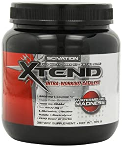 Scivation Xtend Intra-Workout Catalyst, Watermelon Madness, 30 Servings