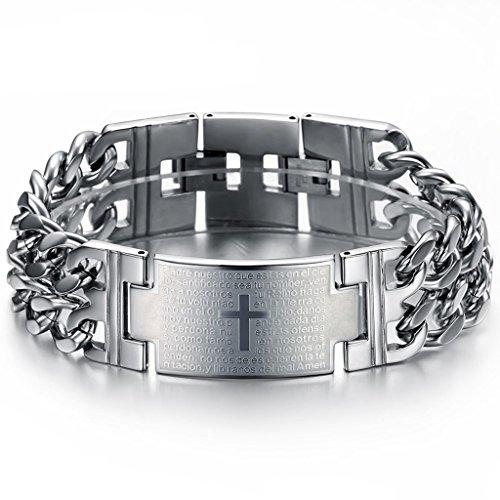 jstyle-gioielli-in-acciaio-inossidabile-bracciale-uomo-argento-con-oratio-dominica-e-croce-lunghezza