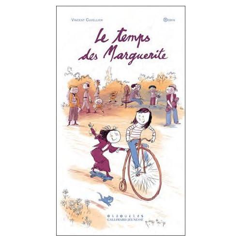 Le temps des Marguerite, de Vincent Cuvellier et Robin 510UJ0gXGzL._SS500_