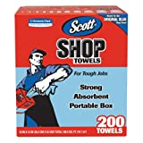 Kimberly Clark 200 Count Blue Scott® Shop Towels In-A-Box  75190