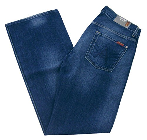 7 For All Mankind -  Jeans  - Uomo Blu New York Dark