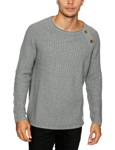 Cottonfield Brookland Men's Jumper Medium Grey Mel Small