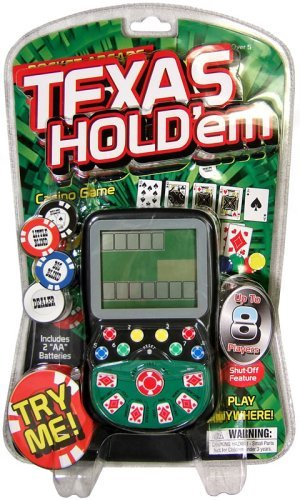 Pocket Arcade Miles Kimball Handheld Texas Hold Em Game - 1