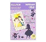 Fujifilm Instax Mini Instant Film 10 Sheets × 2 Packs (Disney Alice in Wonderland & Pink Dot) [Komainu-Dou Original Packege]