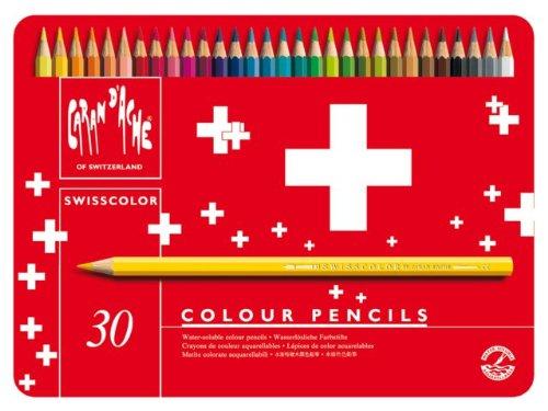 Caran d-Ache Swisscolor Aquarel 30's