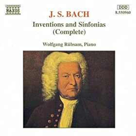 2-Part Inventions Nos. 1-15, BWV 772-786: Invention No. 7 in E minor, BWV 778