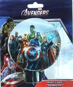 Avengers night light marvel entrance hallway bedroom kitchen baby - Avenger nightlights ...