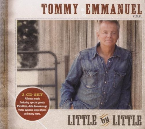 Tommy Emmanuel Little By Little CD Covers