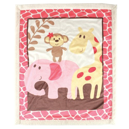 Luvable Friends Sherpa Blanket