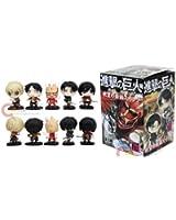 """Attack On Titan Mini 2"""" 5 pc Figure Set with Box"""