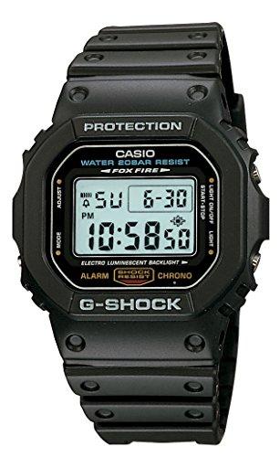 CASIO卡西欧 G-SHOCK DW-5600E-1V 经典运动手表 图片