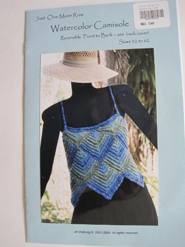 Watercolor Camisole Knitting Pattern