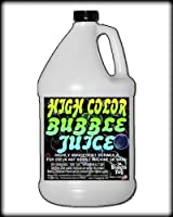 Froggys Fog - HIGH COLOR Bubble Juice - Strong Long-Lasting Iridescent Brilliant for All Bubble Machines and Bubblers - 1 Gallon