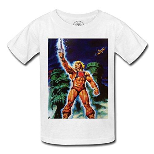 T-shirt enfant he man master universe musclor maitre univers château castle