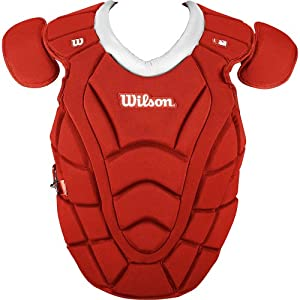 Wilson Sports Max Motion Chest Protector, 18-Inch, Scarlet by Wilson