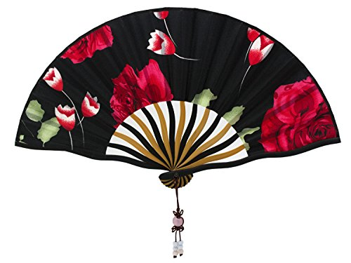 Alay&me Mini and Exquisite Japanese Silks and Satins Hand Fans (Japanese Silk Fan compare prices)