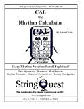 img - for CAL the RHYTHM CALCULATOR: StringQuest Companion Guide -- Rhythm Worlds book / textbook / text book