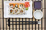 Sushi (rolls) on a Plate - 24
