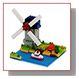 Nanoblock Sites to See Plus Windmill Building Blocks