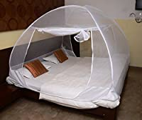 Classic Mosquito Net Classic Foldable Mosquito Net (White-Premium) (Size-Double)
