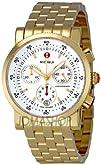 Michele Womens MWW01C000106 Sports Sail Gold Plated Watch
