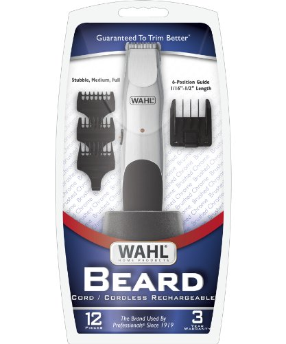 wahl 9918 6171 groomsman beard and mustache trimmer free shipping new ebay. Black Bedroom Furniture Sets. Home Design Ideas