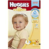Huggies Little Snugglers Diapers, Size 3, 124 Count (Packaging May Vary)
