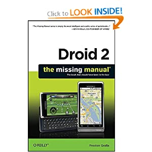 Oreilly Droid 2 The Missing Manual