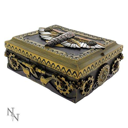 Steampunk Moth scatola 15cm