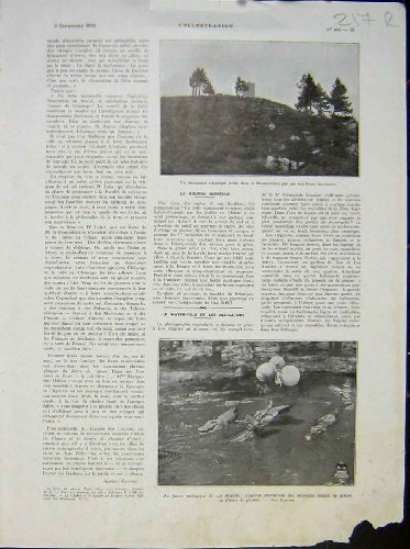 Garden Zoo Crocodile Morocco Sport Water-Ski 1932