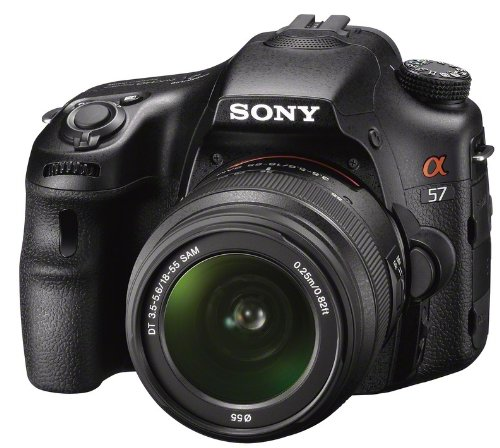 Sony Alpha 57 Interchangeable Lens Camera  18-55