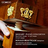 Mozart:Piano Concertos [Ronald Brautigam; Die Kölner Akademie, Michael Alexander Willens] [BIS: BIS2074]