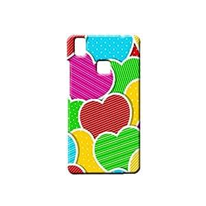BLUEDIO Designer Printed Back case cover for VIVO V3 - G1939