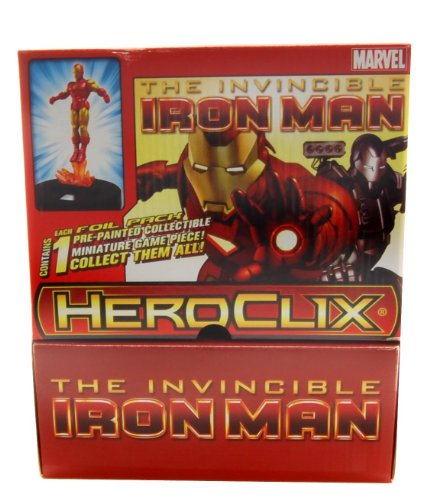 Marvel Heroclix - The Invincible Iron Man Single-figure Booster Pack