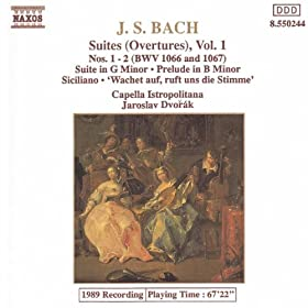 Bach, J.S.: Orchestral Suites Nos. 1 And 2, Bwv 1066-1067