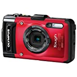Olympus TG-2 Waterproof Digital Camera (Red)