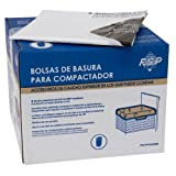 Whirlpool W10165294RB 15-Inch Plastic Compactor Bags, 60-Pack