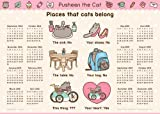 Pusheen the Cat 2014-15 16-Month Calendar Poster